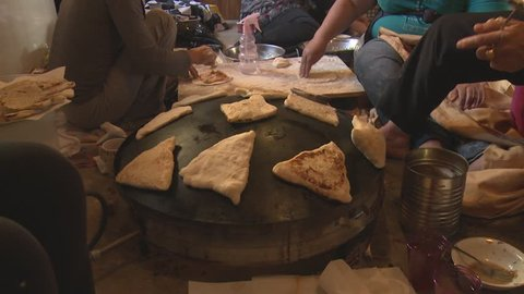 Arabic Saaj - Sajj is used by Arabic people to cook various kinds of traditional pies on