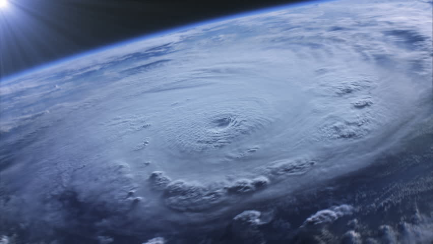 Highly realistic hurricane seen from space. Elements of image furnished by NASA. Strong hurricane iluminated by sun rays. MORE OPTIONS IN MY PORTFOLIO.