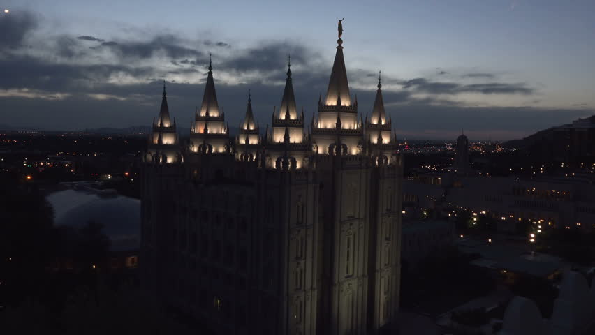Salt Lake City, Utah - Stock Footage Video (100% Royalty-free) 6560849 |  Shutterstock