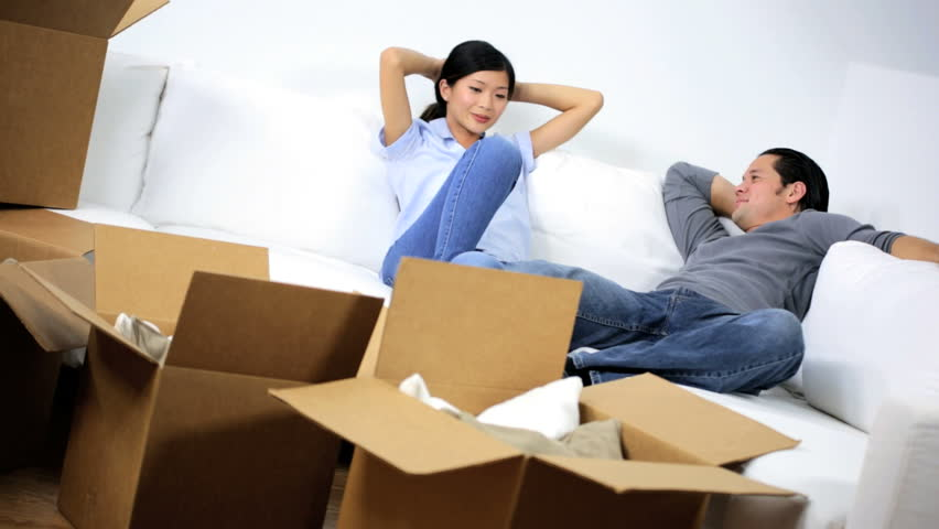 Image result for asian young couple buy new house