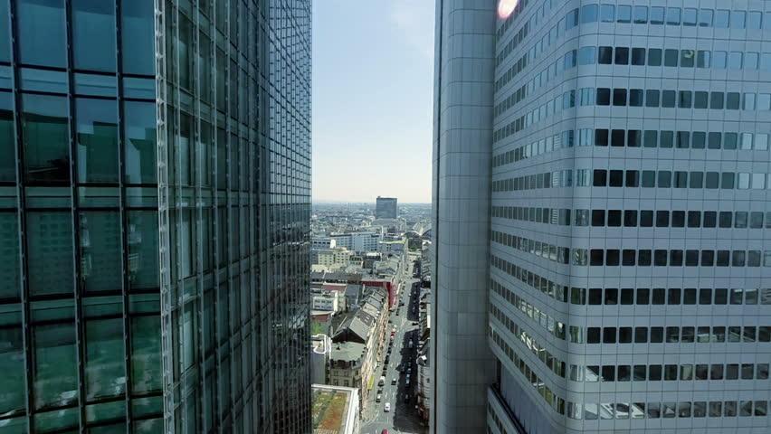 Modern Architecture Videos city cityscape. urban district. skyline skyscrapers. buildings