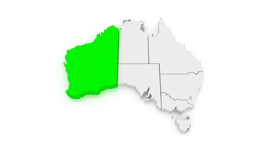 Australia Map Video.Map Of Australia 3d Stock Footage Video 100 Royalty Free 6736069 Shutterstock