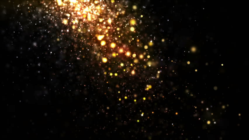 Glittering Particles Sparkle And Drift Stock Footage Video 100