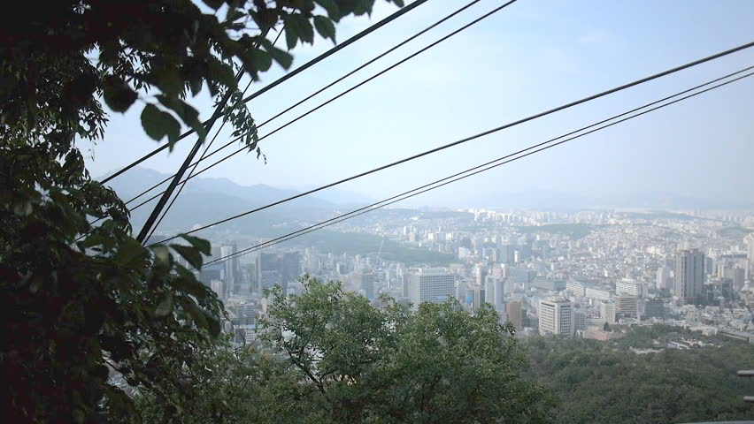 Cable  car cable on the mountain | Shutterstock HD Video #6846439