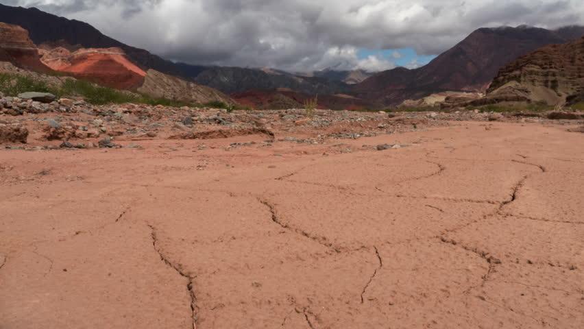 "Rock formation ""La Yesera"" in Salta, Argentina"