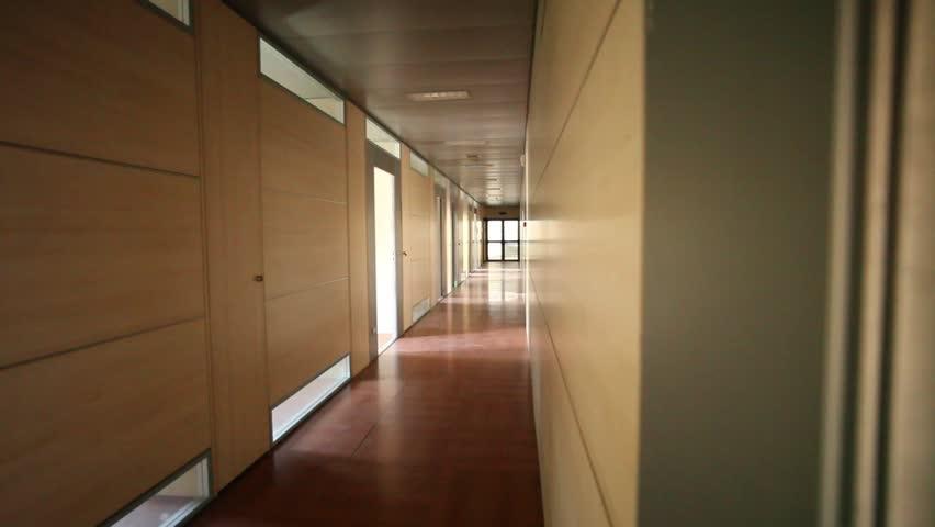 Business Hallway - HD stock video clip