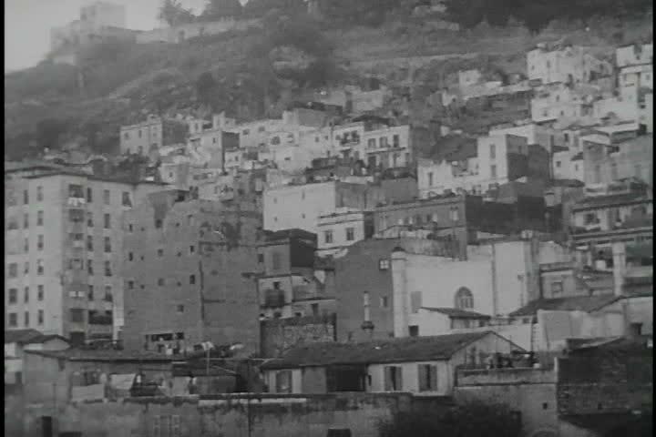 CIRCA 1970s - The Algerian War against France involves General De Gaulle.
