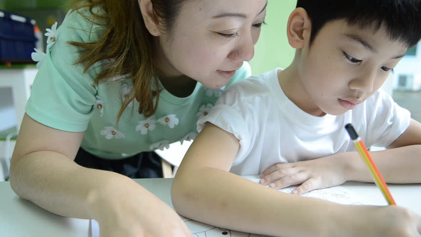 Asian mom and son videos