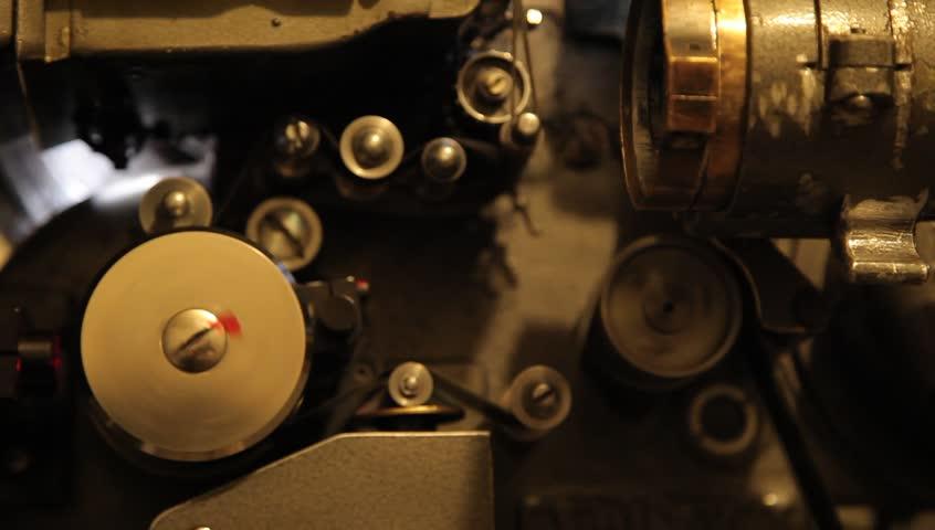 Old Cinema Machinesmechanism Of Film Projector