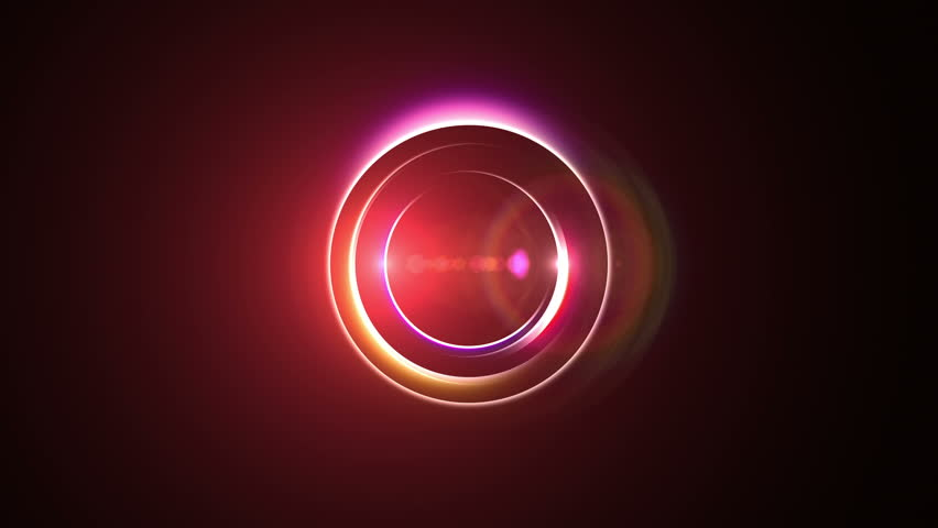 Opening intro Flash light, Lens flare,Red short | Shutterstock HD Video #7324009