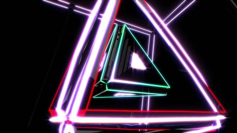 Triangle - Hi Tech Vj Loop