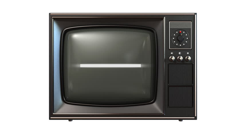 Old tv, turning channels animation, loop-able | Shutterstock HD Video #739099