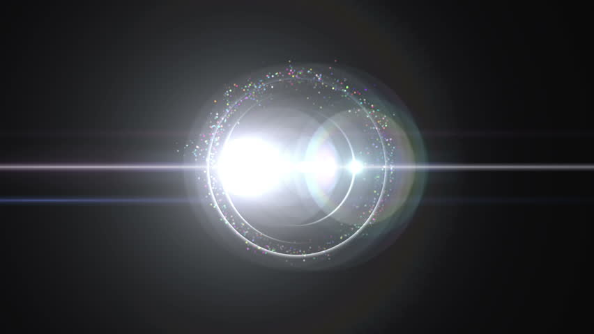 Opening intro Flash light, Lens flare, Particles | Shutterstock HD Video #7415803