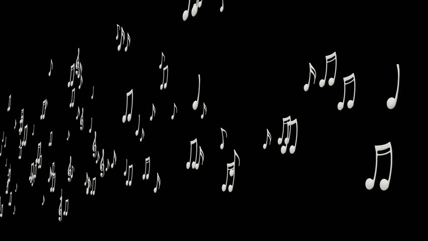 Animated flying white 3d music notes 2 in 4k transparent animated flying white 3d music notes 2 in 4k transparent background alpha channel embedded with 4k png file stock footage video 7484899 shutterstock voltagebd Images