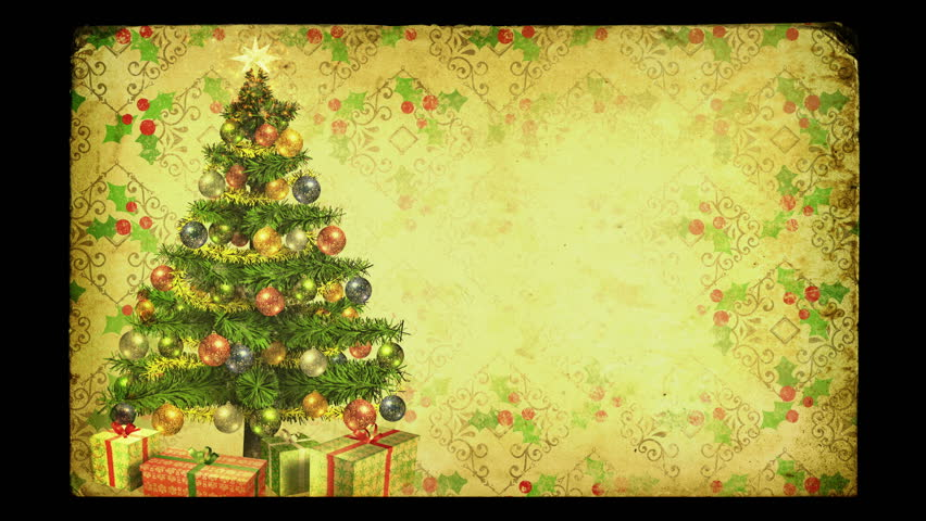 magical growing christmas tree with loop between 1700 2600 old - Old Fashioned Christmas Tree