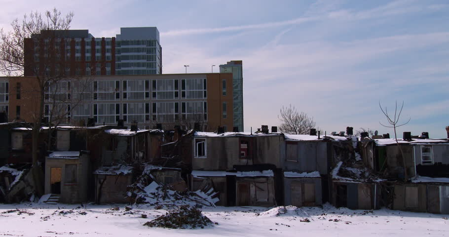 abandoned buildings in an american slum stock footage ghetto houses up for sale ghetto house sims 4