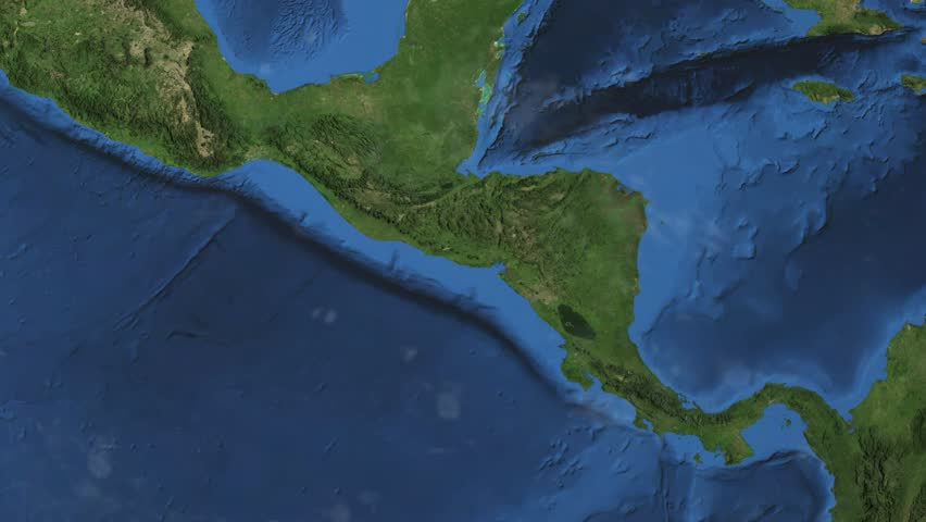 El Salvador Map Flag Rotating On Black Animation Stock Footage - El salvador earth map