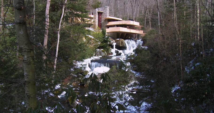 PENNSYLVANIA CIRCA 2014 Frank Lloyd Wrights Falling Water