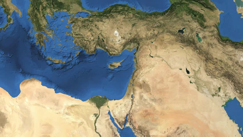 Cyprus D Earth In Space Zoom In On Cyprus Contoured Elements - Map of egypt 3d