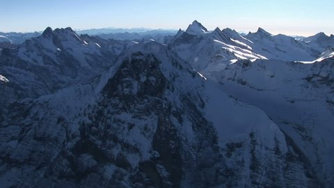 Eiger Nordwand Air shot, Switzerland, famous Mountain for climber