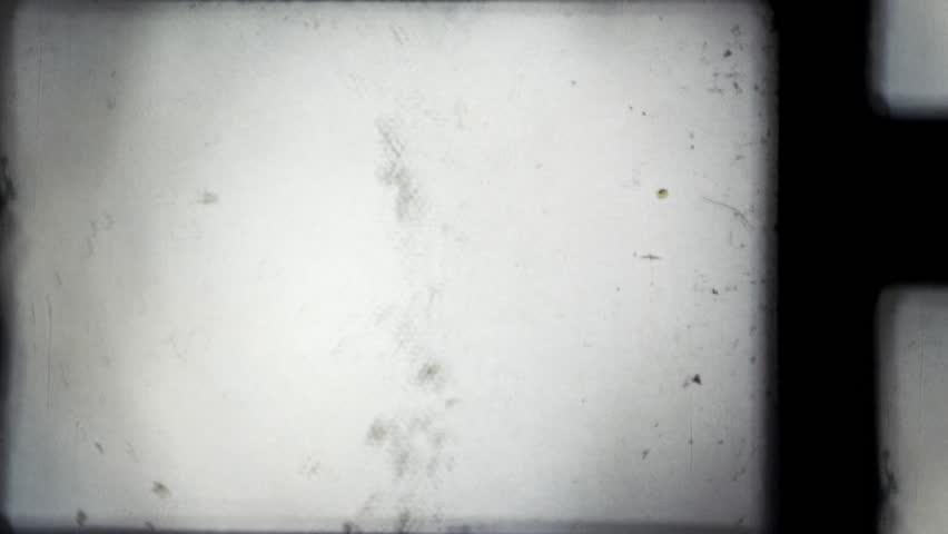 8mm projector film frame. HD, loop (vj).