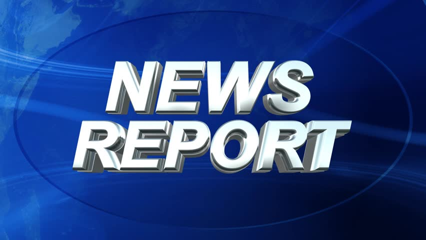 News Report Logo Ident - News Style Abstract Background | Shutterstock HD Video #7613359