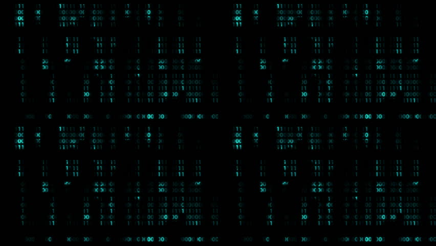 Falling Digital Numbers, matrix style, loop | Shutterstock HD Video #7619749