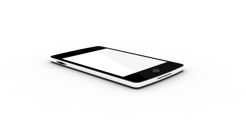 Tablet with the chart is isolated on a white background | Shutterstock HD Video #7637059