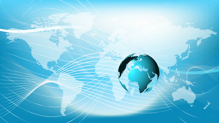 Blue Earth Technology Business And Stock Footage Video