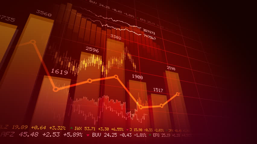 Seamlessly looping abstract animation of financial stock data   | Shutterstock HD Video #766699