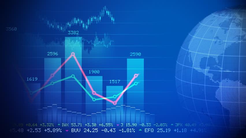 Stock market concept  | Shutterstock HD Video #779599