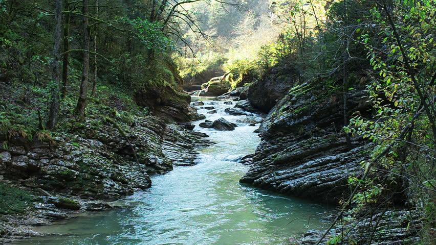 Mountain river | Shutterstock HD Video #7807879