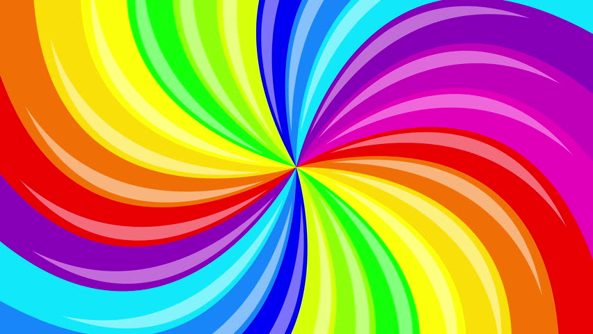 Backgrounds Hd Tie Dye Colorful Vortex Swirls Wallpaper: Colorful Background Rainbow That Rotating Spiral. 2d