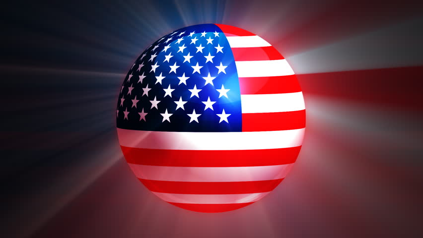 Container Ships With USA And China Map Flags On Blue Sphere - China map in us flag