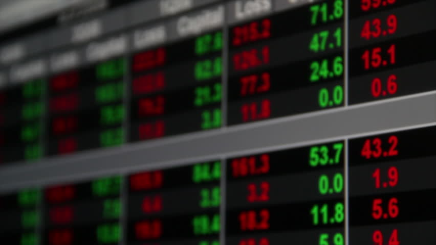 Trading charts screen, pan movement | Shutterstock HD Video #7824013