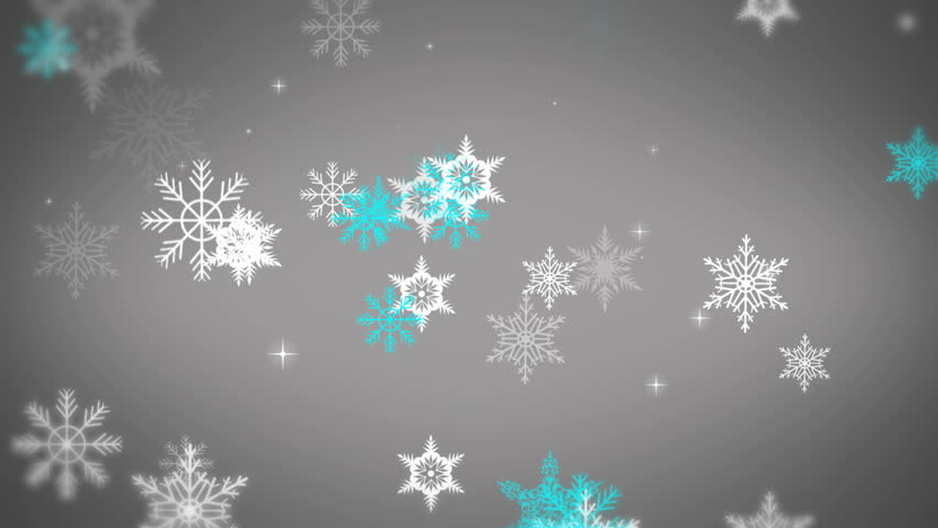 30 seconds HD seamless animated background ideal for editing, led backdrops or broadcasting featuring snowflake particles on a grey background. | Shutterstock HD Video #8050261