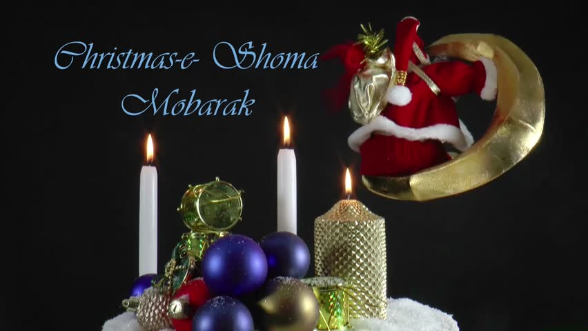 Stock video of christmas greeting and new year wishes 8062249 hd0029christmas greeting and new year wishes in the nations own language at a live moving christmas card m4hsunfo