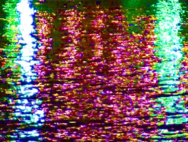 Dynamic Neon lights water reflection.  | Shutterstock HD Video #81109