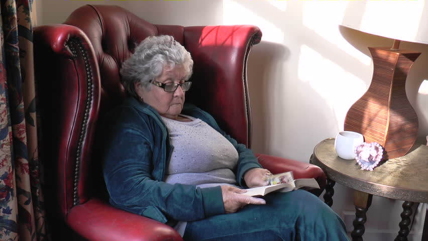 Visually similar footage  sc 1 st  Shutterstock & Stock video of a 76-year-old lady sitting in a | 8147410 | Shutterstock