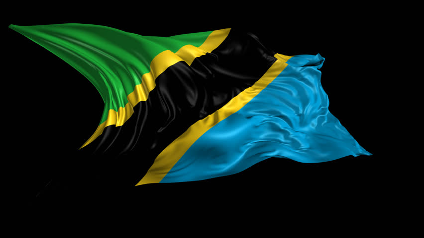 Flag of biafra 3d animation of the old biafra flag with alpha flag of tanzania beautiful 3d animation of tanzania flag with alpha channel in 4k resolution thecheapjerseys Image collections