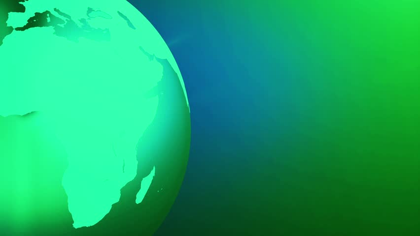 Opening intro flash light lens flare energy elements stock earth art background loop simple animation of globe rotating with line art world map in gumiabroncs