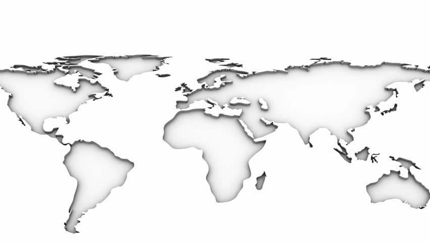 World map white background created in 4k 3d animation stock world map white background created in 4k 3d animation stock footage video 8435659 shutterstock gumiabroncs Images