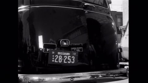 Robbers pulling off Brinks heist, 1950s