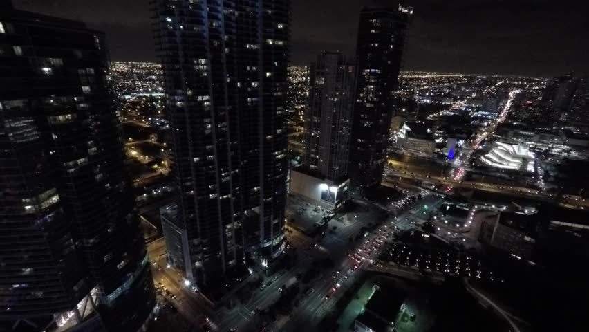 Aerial view Downtown Miami Florida 4k | Shutterstock HD Video #8577259