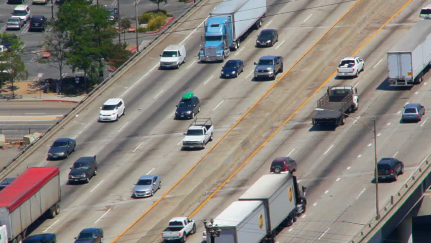 Traffic 13: High Angle Time Lapse | Shutterstock HD Video #861379