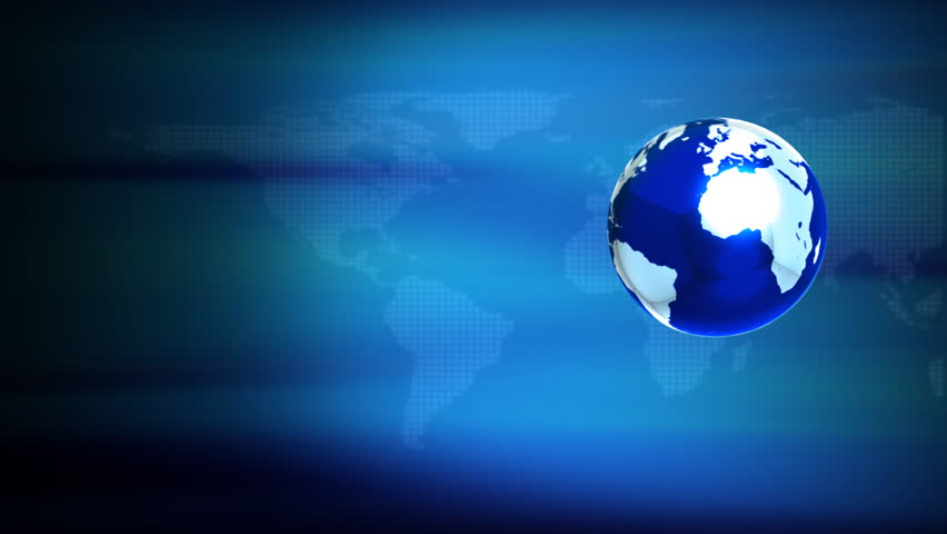 Spinning globe seamless loop animation stock footage video 633721 computer rendered animation for news tv channel with aureoles and world map hd gumiabroncs Images