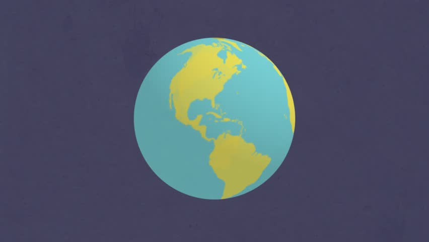 Earth in space, progressbar, preloader for planet. Infographic ocean