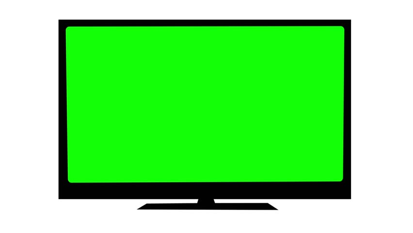 Tv with Green Screen  Switch Stock Footage Video (100% Royalty-free)  8679889 | Shutterstock