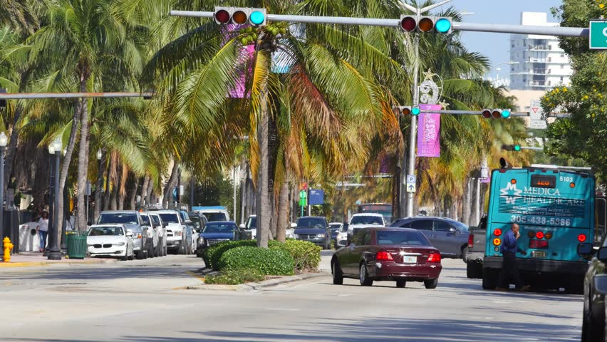Video Stock A Tema Miami Beach January 24 100 Royalty Free 8690179 Shutterstock