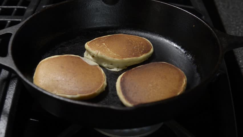 Stock video of fresh homemade pancakes in cast iron 8703619 stock video of fresh homemade pancakes in cast iron 8703619 shutterstock ccuart Images
